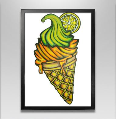 Мороженное - Постеры, Фрукты