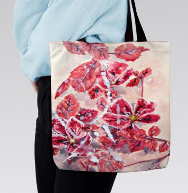 Розовый шиповник - Сумка с полной запечаткой, подарки, Популярные