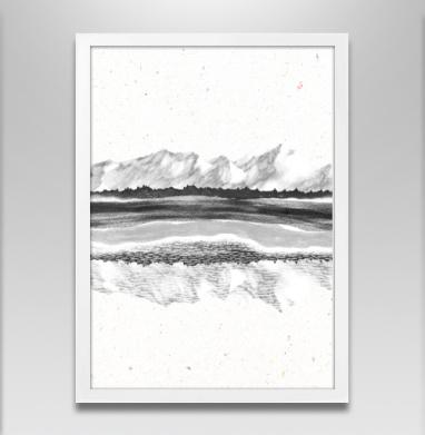 Горы и воздух - Постеры, пейзаж, Популярные