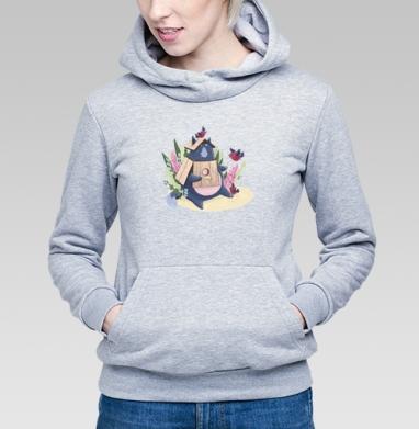 Кот Маркус - Купить детские толстовки с птицами в Москве, цена детских толстовок с птицами  с прикольными принтами - магазин дизайнерской одежды MaryJane