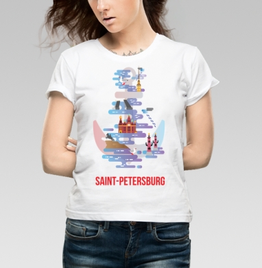 Санкт-Петербург - Прикольные футболки в СПБ
