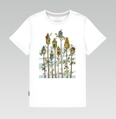 Скворечники, Детская футболка белая