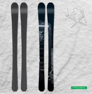 Космос - Наклейки на лыжи