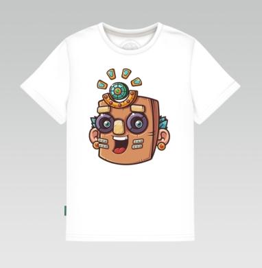 Тотемная маска, вектор - Детские футболки с прикольными надписями