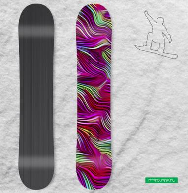 Волны намбер ван - Наклейки на доски - сноуборд, скейтборд, лыжи, кайтсерфинг, вэйк, серф
