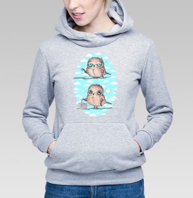 Пташки - работяжки - Купить детские толстовки с птицами в Москве, цена детских толстовок с птицами  с прикольными принтами - магазин дизайнерской одежды MaryJane