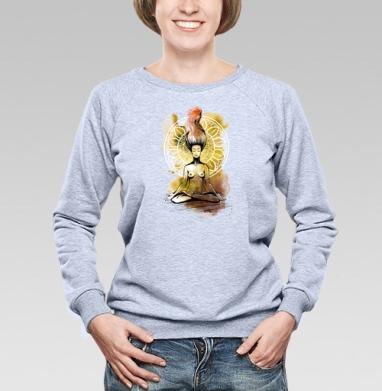 Медитация. Лотос - Купить детские свитшоты с акварелью в Москве, цена детских свитшотов с акварелью  с прикольными принтами - магазин дизайнерской одежды MaryJane