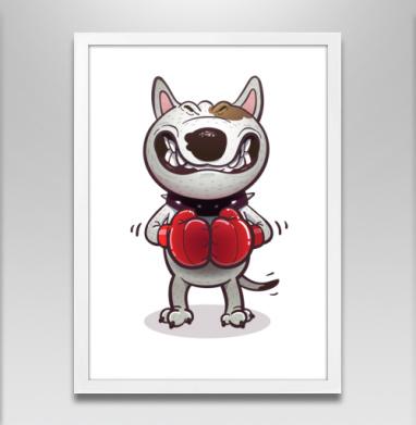 Сердитый буль - Постеры, собаки, Популярные