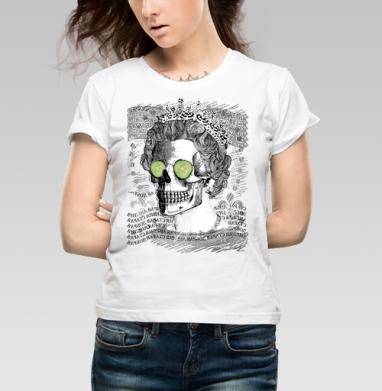 Череп в короне - Купить детские футболки с бородой в Москве, цена детских футболок с бородой  с прикольными принтами - магазин дизайнерской одежды MaryJane