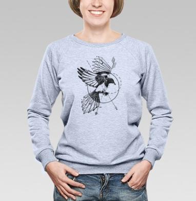 Сорока - Купить детские свитшоты с птицами в Москве, цена детских свитшотов с птицами  с прикольными принтами - магазин дизайнерской одежды MaryJane