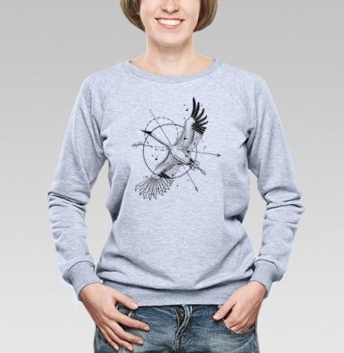 Стерх - Купить детские свитшоты с птицами в Москве, цена детских свитшотов с птицами  с прикольными принтами - магазин дизайнерской одежды MaryJane