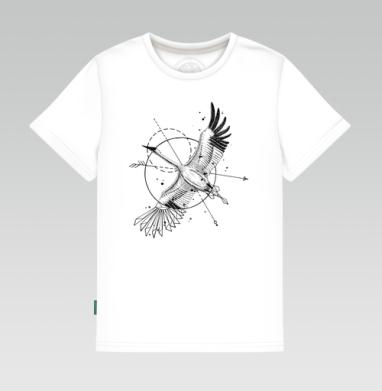 Стерх, Детская футболка белая 160гр