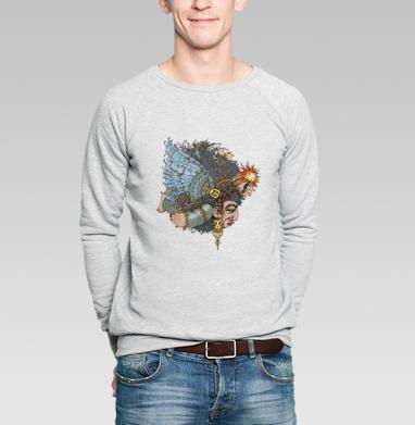 Прометей - Купить мужские свитшоты с илюстрациями в Москве, цена мужских свитшотов с илюстрациями  с прикольными принтами - магазин дизайнерской одежды MaryJane