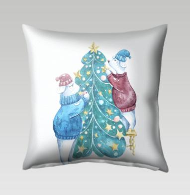 Роб, Лили и елка, Подушка