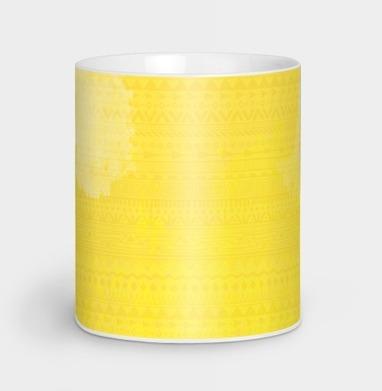 Девушка Хиппи - Кружки с логотипом