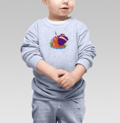 Викинг в горах - Купить детские свитшоты АК-47 в Москве, цена детских свитшотов автомат Калашникова  с прикольными принтами - магазин дизайнерской одежды MaryJane