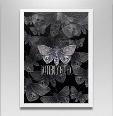 Бабочка готика - Постеры, бабочки, Популярные