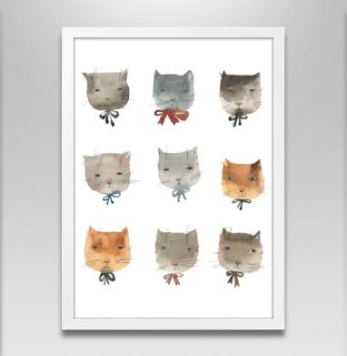 Котитки девять - Постеры, кошка, Популярные