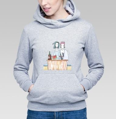 Подруги три - Купить детские толстовки серые в Москве, цена детских толстовок серых с прикольными принтами - магазин дизайнерской одежды MaryJane