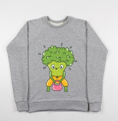 Броккоспорт - Купить детские свитшоты спортивные в Москве, цена детских свитшотов спортивных  с прикольными принтами - магазин дизайнерской одежды MaryJane