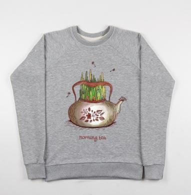Летний чай - Купить детские свитшоты с природой в Москве, цена детских свитшотов с природой  с прикольными принтами - магазин дизайнерской одежды MaryJane