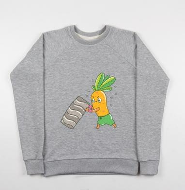 Морковкоспорт - Купить детские свитшоты спортивные в Москве, цена детских свитшотов спортивных  с прикольными принтами - магазин дизайнерской одежды MaryJane