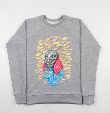 Осенний мотылек - Купить детские свитшоты милые в Москве, цена детских свитшотов милых  с прикольными принтами - магазин дизайнерской одежды MaryJane