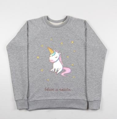 Превращение в единорога - Купить детские свитшоты милые в Москве, цена детских свитшотов милых  с прикольными принтами - магазин дизайнерской одежды MaryJane