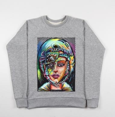 РУСАЛКАА - Купить детские свитшоты с акварелью в Москве, цена детских свитшотов с акварелью  с прикольными принтами - магазин дизайнерской одежды MaryJane