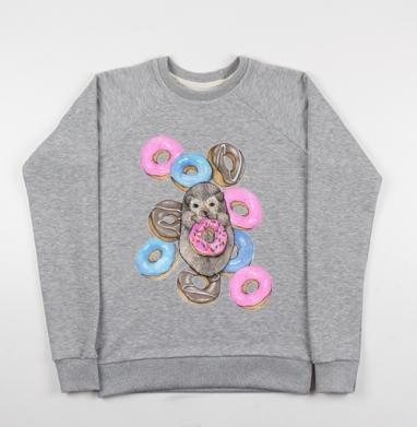 Сладкоежка - Купить детские свитшоты с животными в Москве, цена детских свитшотов с животными  с прикольными принтами - магазин дизайнерской одежды MaryJane