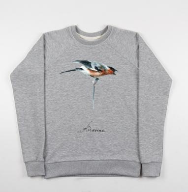 Снигирь на ветке - Купить детские свитшоты с птицами в Москве, цена детских свитшотов с птицами  с прикольными принтами - магазин дизайнерской одежды MaryJane