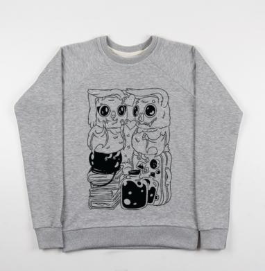 Влюбленные летучие мыши - Купить детские свитшоты парные в Москве, цена детских свитшотов парных  с прикольными принтами - магазин дизайнерской одежды MaryJane