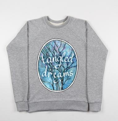 Запутанные мечты - Купить детские свитшоты с природой в Москве, цена детских свитшотов с природой  с прикольными принтами - магазин дизайнерской одежды MaryJane