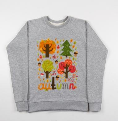 Autumn - Купить детские свитшоты милые в Москве, цена детских свитшотов милых  с прикольными принтами - магазин дизайнерской одежды MaryJane