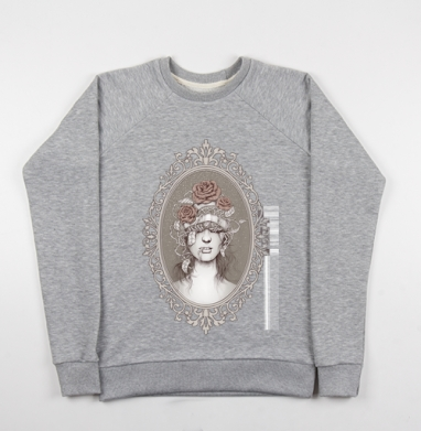 Без признаков севера - Купить детские свитшоты ретро в Москве, цена детских свитшотов ретро  с прикольными принтами - магазин дизайнерской одежды MaryJane
