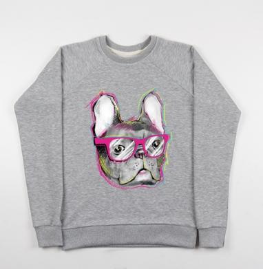 Бульдожка - Купить детские свитшоты модные в Москве, цена детских свитшотов модных  с прикольными принтами - магазин дизайнерской одежды MaryJane