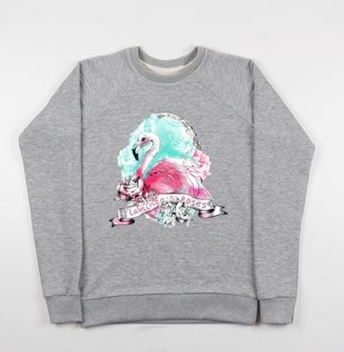 Фламинго - Купить детские свитшоты с роами в Москве, цена детских свитшотов с розой с прикольными принтами - магазин дизайнерской одежды MaryJane