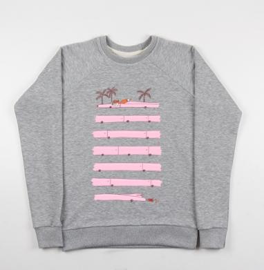 Foxcar - Купить детские свитшоты ретро в Москве, цена детских свитшотов ретро  с прикольными принтами - магазин дизайнерской одежды MaryJane
