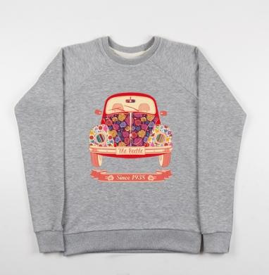 Жук в цветах - Купить детские свитшоты ретро в Москве, цена детских свитшотов ретро  с прикольными принтами - магазин дизайнерской одежды MaryJane
