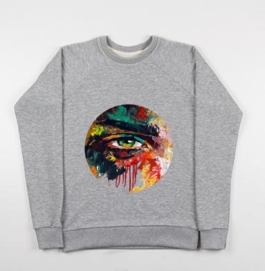 Кара - Купить детские свитшоты с живописью в Москве, цена детских свитшотов с живописью  с прикольными принтами - магазин дизайнерской одежды MaryJane