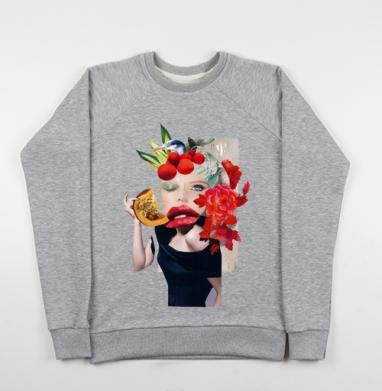 Коллаж с тыковкой - Купить детские свитшоты красивые в Москве, цена детских свитшотов красивых  с прикольными принтами - магазин дизайнерской одежды MaryJane