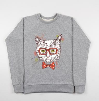 Котя-хипстер - Купить детские свитшоты модные в Москве, цена детских свитшотов модных  с прикольными принтами - магазин дизайнерской одежды MaryJane