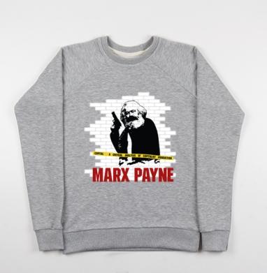 MARX PAYNE - Купить детские свитшоты с надписями в Москве, цена детских свитшотов с надписями  с прикольными принтами - магазин дизайнерской одежды MaryJane