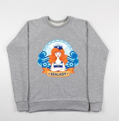 Морские волки (жен.) - Купить детские свитшоты морские  в Москве, цена детских свитшотов морских   с прикольными принтами - магазин дизайнерской одежды MaryJane