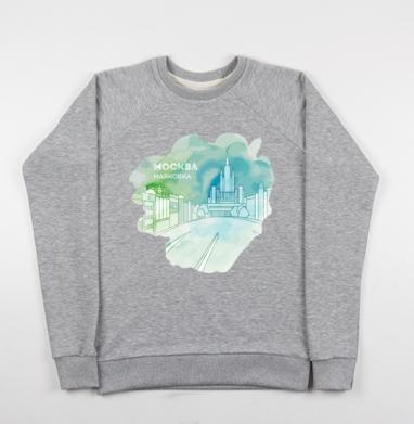 Москва, Маяковка - Купить детские свитшоты с городами в Москве, цена детских свитшотов с городами  с прикольными принтами - магазин дизайнерской одежды MaryJane