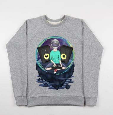 Нейронавт - Купить детские свитшоты музыка в Москве, цена детских свитшотов музыкальных  с прикольными принтами - магазин дизайнерской одежды MaryJane