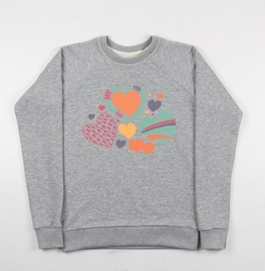 Оттенки чувств - Купить детские свитшоты романтика в Москве, цена детских свитшотов романтических  с прикольными принтами - магазин дизайнерской одежды MaryJane