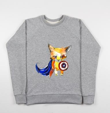 СуперЛис - Купить детские свитшоты с животными в Москве, цена детских свитшотов с животными  с прикольными принтами - магазин дизайнерской одежды MaryJane