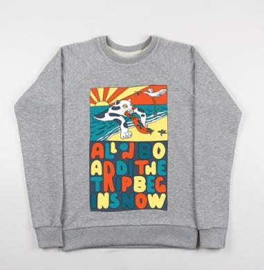 Все на борт - Купить детские свитшоты морские  в Москве, цена детских свитшотов морских   с прикольными принтами - магазин дизайнерской одежды MaryJane