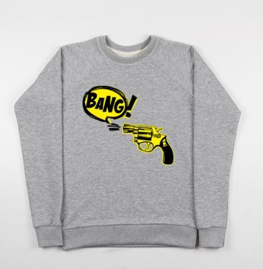 Bang! - Купить детские свитшоты военные в Москве, цена детских свитшотов военных с прикольными принтами - магазин дизайнерской одежды MaryJane